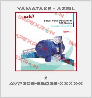 Azbil (formerly Yamatake)-# AVP302-ESD3B-XXXX-X  price