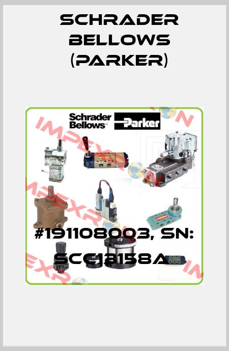 Schrader Bellows (Parker)-#191108003, SN: SCC13158A  price