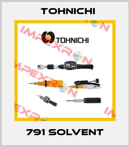 Tohnichi-791 Solvent price