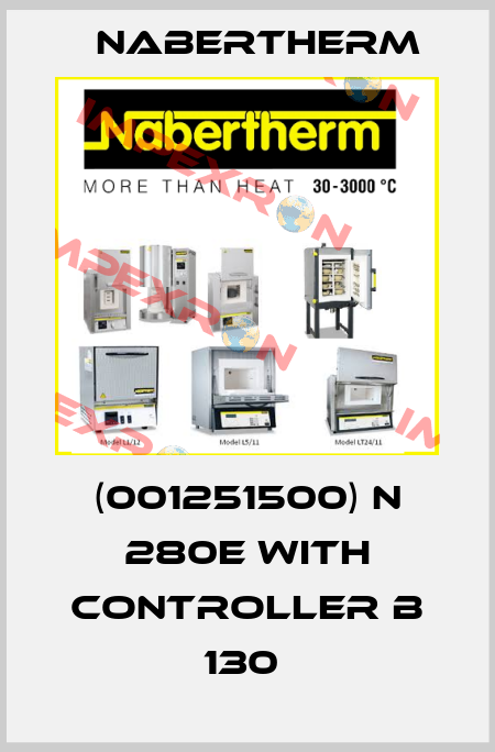 Nabertherm-(001251500) N 280E WITH CONTROLLER B 130  price