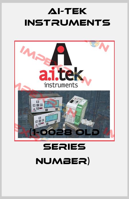 AI-Tek Instruments-(1-0028 OLD SERIES NUMBER)  price