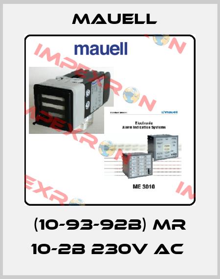 Mauell-(10-93-92B) MR 10-2B 230V AC  price