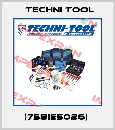 Techni Tool-(758IE5026)  price