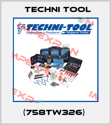Techni Tool-(758TW326)  price