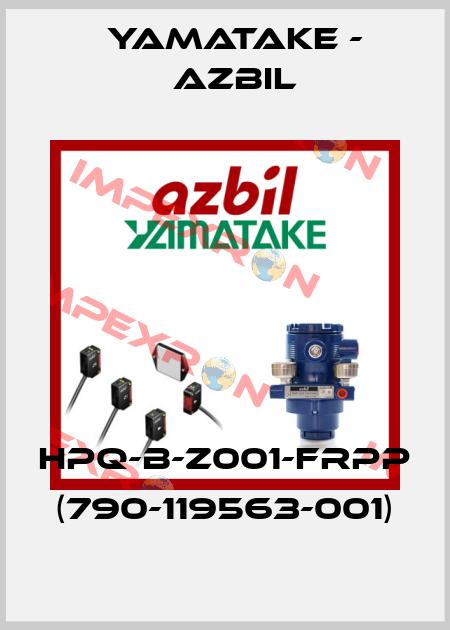 Azbil (formerly Yamatake)-(790-119563-001) HPQ-B-Z001-FRPP  price