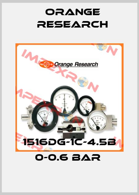 Orange Research-1516DG-1C-4.5B 0-0.6 BAR  price
