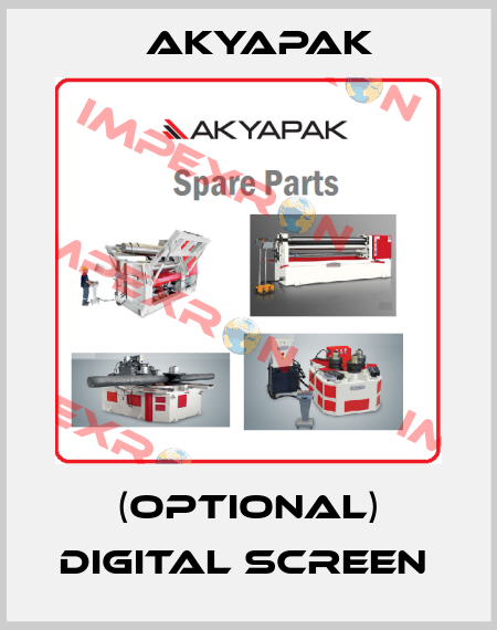 Akyapak-(OPTIONAL) DIGITAL SCREEN  price