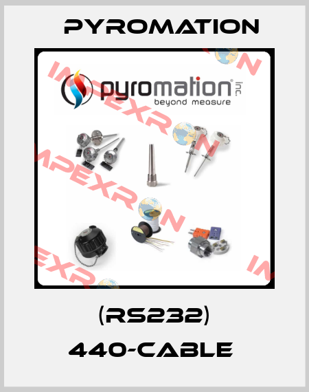 Pyromation-(RS232) 440-CABLE  price